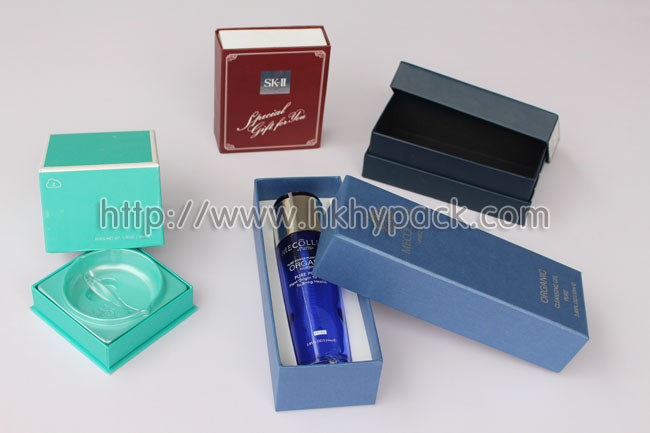 perfume and cosmetic box